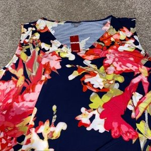 NWT Avenue 30/32 floral Dress Spring Summer Plus S